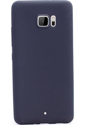 Gpack HTC U Ultra Premier Silikon Kılıf Nano Glass Ekran Koruyucu Siyah