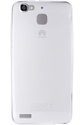 Gpack Huawei Gr3 Kılıf 0.2 mm Silikon Kılıf Nano Glass Koruma Şeffaf