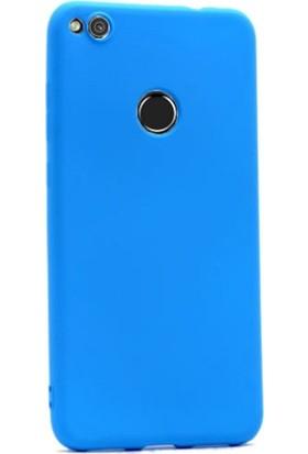 Gpack Huawei P9 Lite 2017 Premier Silikon Kılıf Nano Glass Ekran Koruyucu Turkuaz