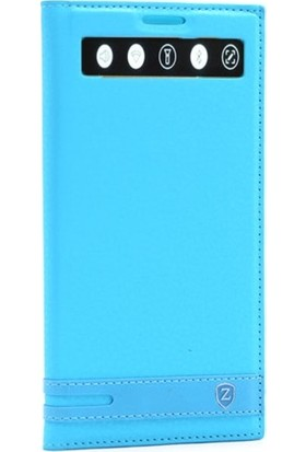 Gpack LG V20 Kılıf Elite Gizli Mıknatıslı Kapaklı Nano Kalem Turkuaz