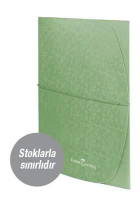 Faber-Castell Desenli Evrak Dosyası, Metalik Yeşil (stoklarla sınırlıdır)