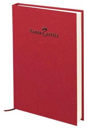 Faber-Castell Natural Seri A5 Ciltli Çizgisiz Defter Vişne 140 Yaprak