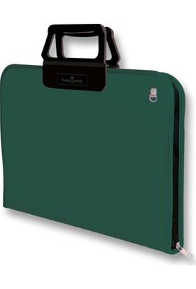 Faber-Castell Proje Çantası 38*55cm, K.Yeşil