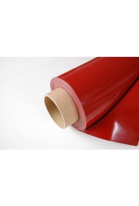 Kırmızı Silikon Perde 0,30 Mm