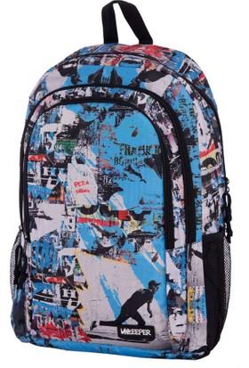 Unkeeper Graffiti Skate 3 Compart Sırt Çantası 62609