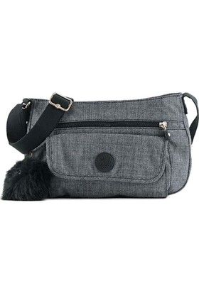 Kipling Syro Basic Plus Omuz Çantası Denim K12482-F27