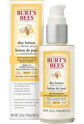 Burts Bees Skin Nourishment Day Lotion with Spf 15 56.6 gr