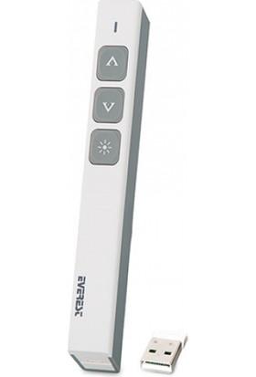 Everest Psn-07B Beyaz 2.4Ghz Kablosuz Profesyonel Sunum Cihazı