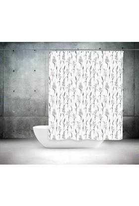 Zethome Günce Banyo Duş Perdesi 2499 Çift Kanat 2X100X200