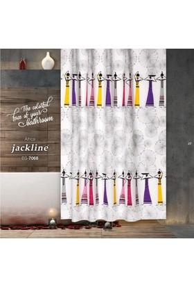 Zethome Jackline Banyo Duş Perdesi 7068 Tek Kanat 1X180x200