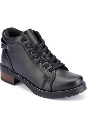 Polaris 82.352531.Z Siyah Kadın Ayakkabı