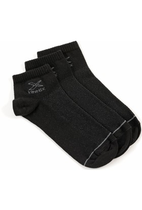 Kinetix Bunk Siyah Unisex Çorap
