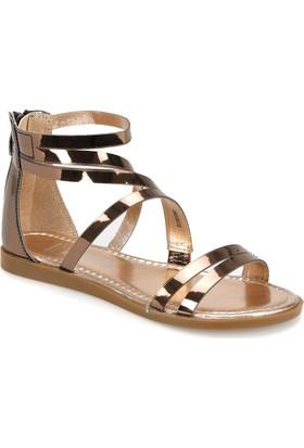 Miss F Ds18067 Bronz Kadın Dress Ayakkabı