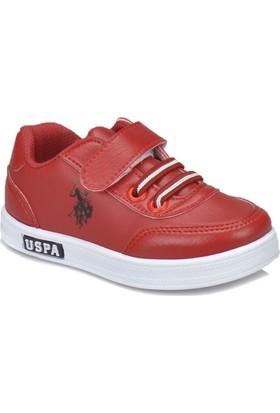 U.S. Polo Assn. Cameron Wt Kırmızı Erkek Çocuk Sneaker Ayakkabı