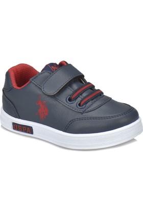 U.S. Polo Assn. Cameron Wt Lacivert Erkek Çocuk Sneaker Ayakkabı