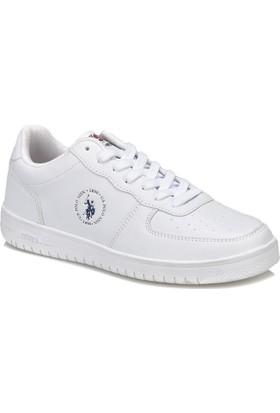 U.S. Polo Assn. Dimler Beyaz Kadın Sneaker Ayakkabı