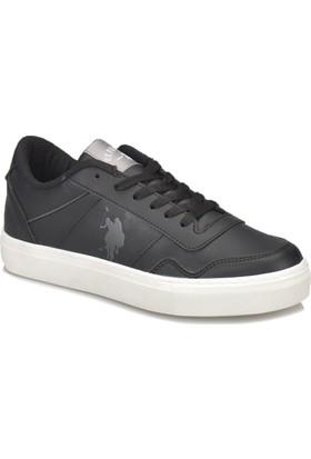 U.S. Polo Assn. Tiger. Siyah Kadın Sneaker Ayakkabı