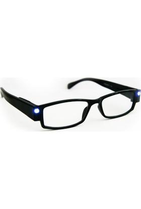 Welfare Led Gözlük Tasarımlı Kitap Okuma Lambası Işıklı Ledli Lamba