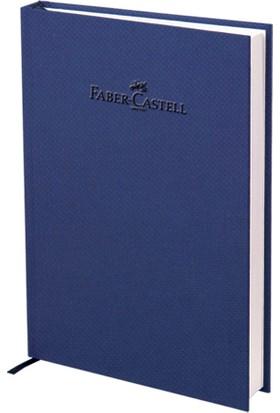 Faber-Castell Natural Seri A5 Ciltli Çizgili Defter Lacivert140 Yaprak