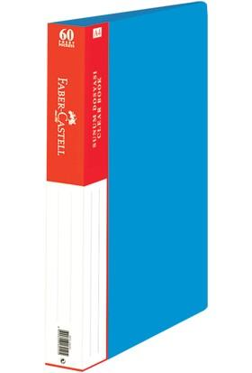 Faber-Castell Standart Sunum Dosyası 60 Yaprak Mavi