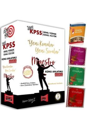 Kpss 2019 Lisans Maestro Genel Yetenek Genel Kültür Konu Anlatımlı Modüler Set + 4