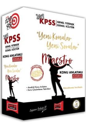 Yargı Yayınevi 2019 KPSS Genel Yetenek Genel Kültür Maestro Konu Anlatımlı Modüler Set