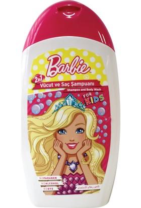 Barbie Çocuk Saç Ve Vücüt Şampuanı 300 Ml