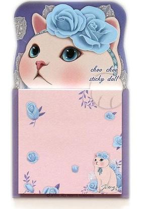 Jetoy Choo Choo Post-İt Doll Blue Rose