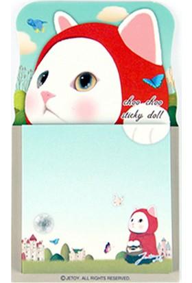 Jetoy Choo Choo Post-İt Doll Red Hood
