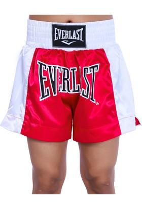 Everlast Erkek Kırmızı-Beyaz Box Şortu