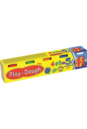 Eren Play Dough Mini Oyun Hamuru 5 Renk 5x60=300 gr.
