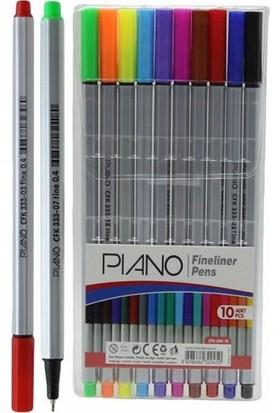 Piano Fineliner Kalem Seti 10 Adet