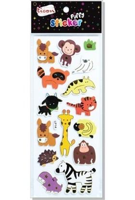 Ticon Sticker Puffy 138016 (Kabartmalı) Tps-5