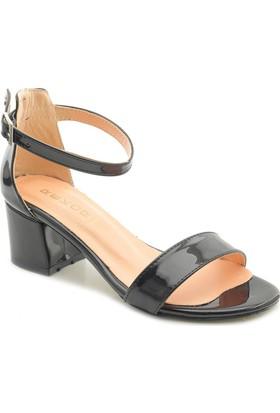Fantasy LH880 Alçak Kare Topuk Bayan Ayakkabı