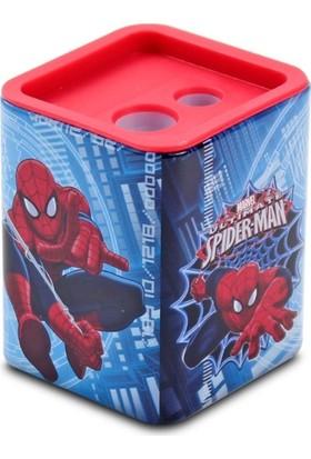 Spider-Man Metal Kutu Çiftli Kalemtraş SM-9753