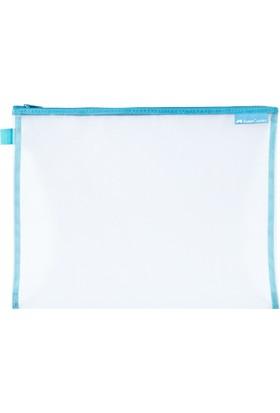 Faber-Castell Mesh Dosya A4 Mavi
