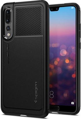 Spigen Huawei P20 Pro Kılıf Marked Armor Black - L23CS24400