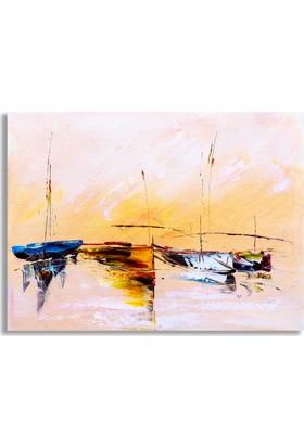 Diji Kanvas Tekneler Yağlı Boya Kanvas Tablo