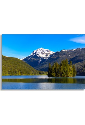 Diji Kanvas Dağ Manzarası Kanvas Tablo