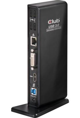 Club 3D USB 3.0 Çift Ekran Yerleştirme İstasyonu CSV-3242HD