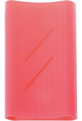 Case 4U Xiaomi 20000 mAh Taşınabilir Şarj Cihazı Silikon Kılıf Pembe