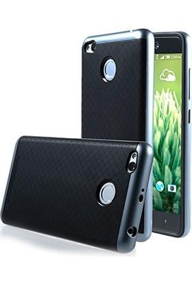 Case 4U Xiaomi Redmi 3 Pro Hybrid Korumalı İnce Arka Kapak Gri
