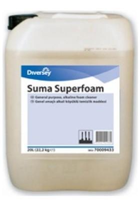 Diversey Suma Superfoam Köpüklü Ağır Yağ ve Kir Çözücü Deterjan 22,20 kg