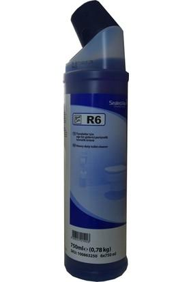 Diversey Taski Room Care R6 Ağır Kirler İçin Klozet Temizlik Ürünü 0.77kg (6 adet)