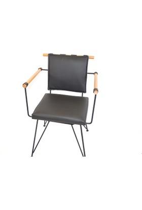 Payanda penyez sandalye siyah