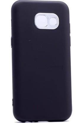Case 4U Samsung Galaxy A7 2017 Silikon Kılıf Luxury Siyah