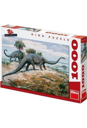 Dino Diplodocus, Dino 1000 Parça Puzzle