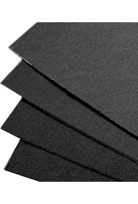 Uart Premium Kumlu Pastel Kağıdı 600 Grade - Siyah A4