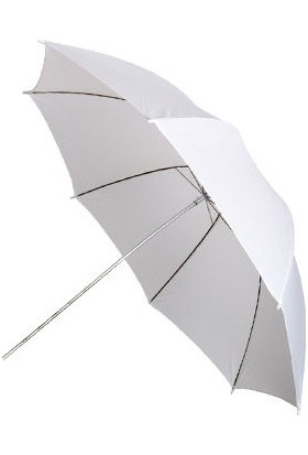 Ayex Stüdyo Şemsiyesi Beyaz 101Cm (40'') Işık Yumşatıcı