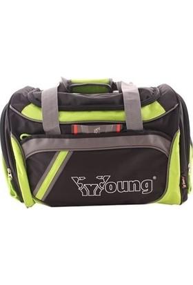 Young 40160 Orta Boy Erkek Spor Seyahat Çantası Yeşil
